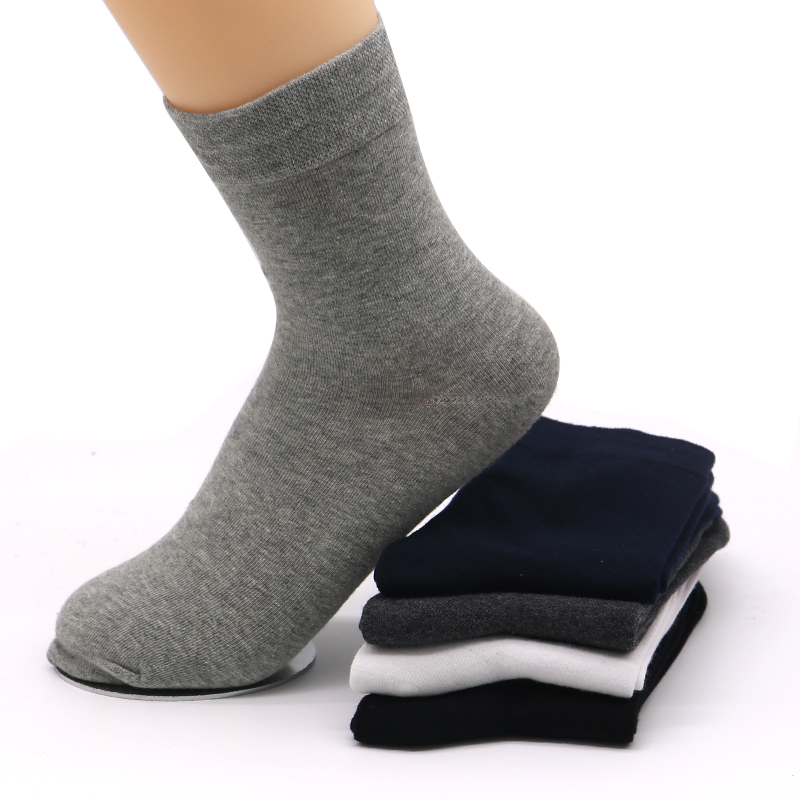 1pair Mens Socks for Mens Male Dress Sock Cotton Blend Long Warm Socks Meias Masculino Comfortable Business Socks Calcetines