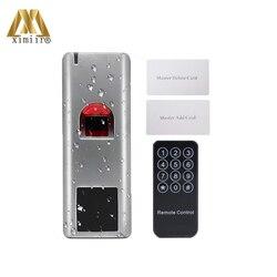 New Arrival System kontroli dostępu RFID karta zbliżeniowa samodzielny kontroli dostępu do drzwi wodoodporna metalowa czytnik linii papilarnych w Czytniki kart kontrolnych od Bezpieczeństwo i ochrona na