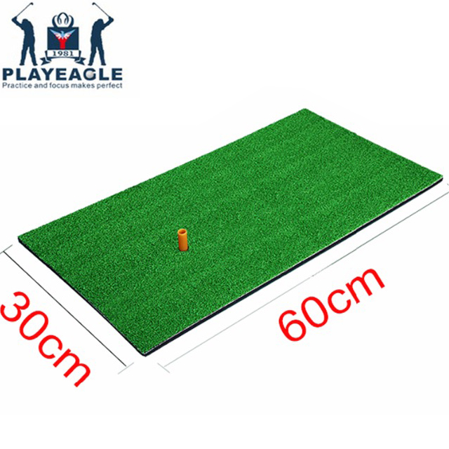 FUNGREEN Golf Chipping golpeando Mat 30x60 cm interior patio trasero de práctica de la formación de Tee titular Matt de práctica de Golf Pad