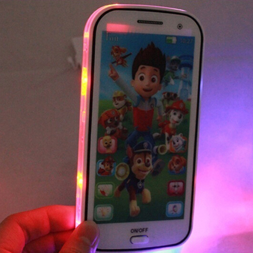 Kids Toy Phone Educational Story English Language Learning Machine Toy Cellphone