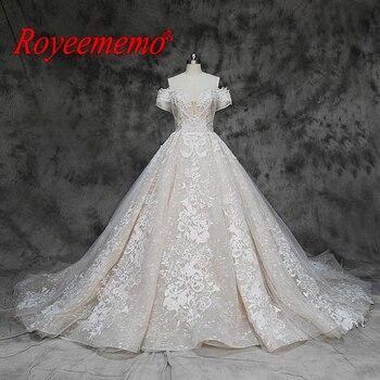 Свадебное платье с коротким рукавом, кружевное, фабричное, по оптовой цене