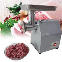 110V/220V Electric Meat Grinder Heavy Duty Household Sausage Maker Meats Mincer Food Grinding Mincing Machine