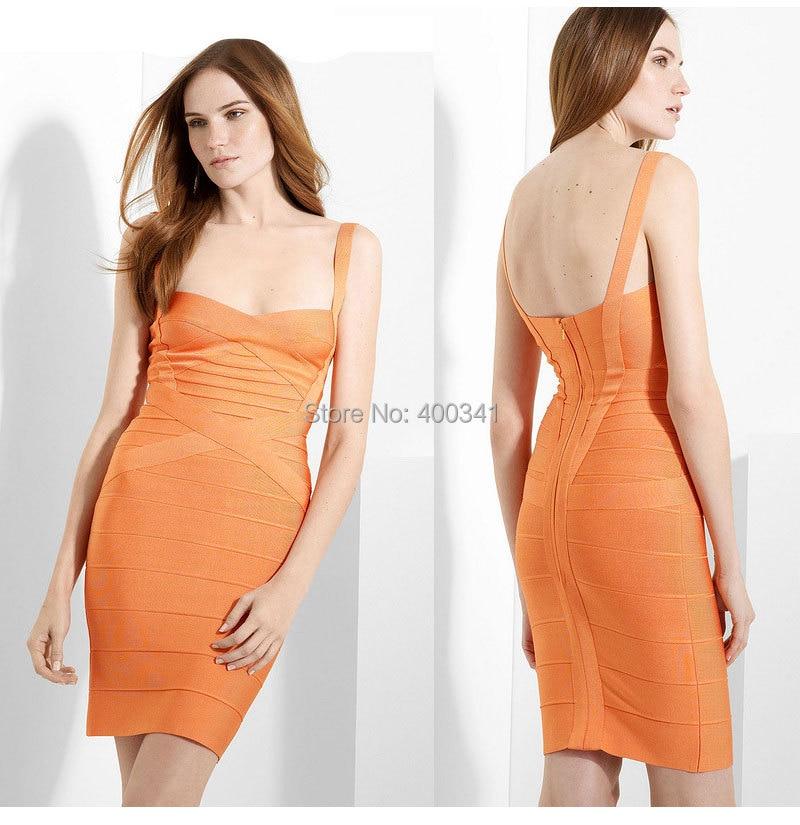 17 New Women Sexy Spaghetti Strap Rayon HL Elastic Celebrity Bandage Dress Bodycon Mini Club Party Dresses Drop Ship HL8675 10