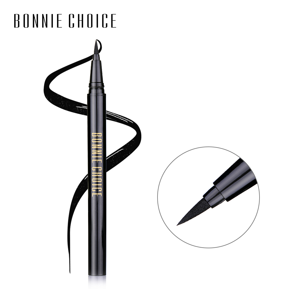 BONNIE CHOICE Liquid Eyeliner Pencil Long-lasting Waterproof Black Eye Liner Pen Makeup Cosmetic Tool 1 Pc цены