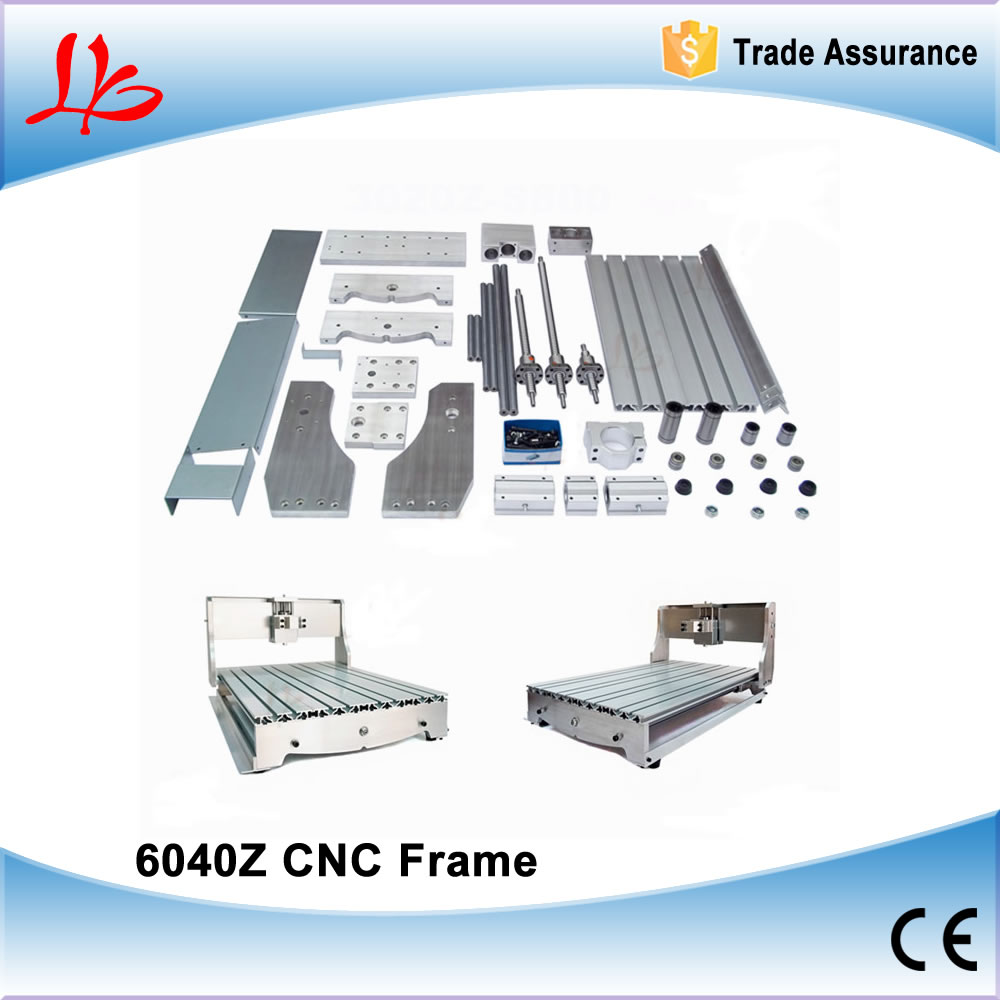 CNC Router frame for 6040 Engraving machine with 16mm*5mm ball screw cnc router wood milling machine cnc 3040z vfd800w 3axis usb for wood working with ball screw