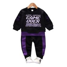 New Spring Autumn Baby Girls Boys Clothing Sets Children Clothes Suits Cartoon Casual T Shirt Pants 2Pcs Toddler Infant Costume new 2016 autumn children wear suits baby girls boys clothes sets camouflage color cotton coat t shirt pants infant casual suits