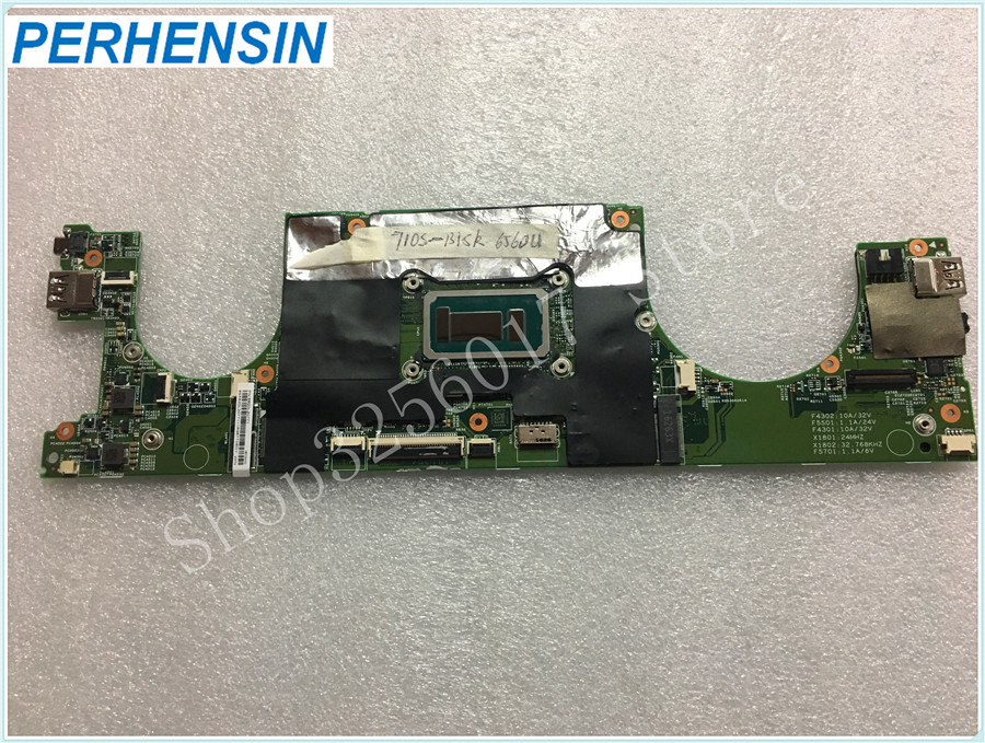 For LENOVO FOR IdeaPad 710s 710s-13isk Laptop MOTHERBOARD 5B20L20771 i7-6560u 100% WORK PERFECTLYFor LENOVO FOR IdeaPad 710s 710s-13isk Laptop MOTHERBOARD 5B20L20771 i7-6560u 100% WORK PERFECTLY