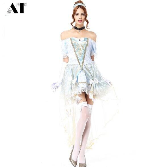 Original Princess Snow White Cinderella Dresses Costumes: Adult Cinderella Snow White Princess Costume Sexy Fairy