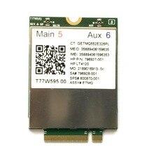 Lt4120 X5 LTE T77W595 796928-001 аккумулятор большой емкости 4G WWAN M.2 150 Мбит/с LTE модем для hp Elite x2 840 850 G3 640 650 645 G2