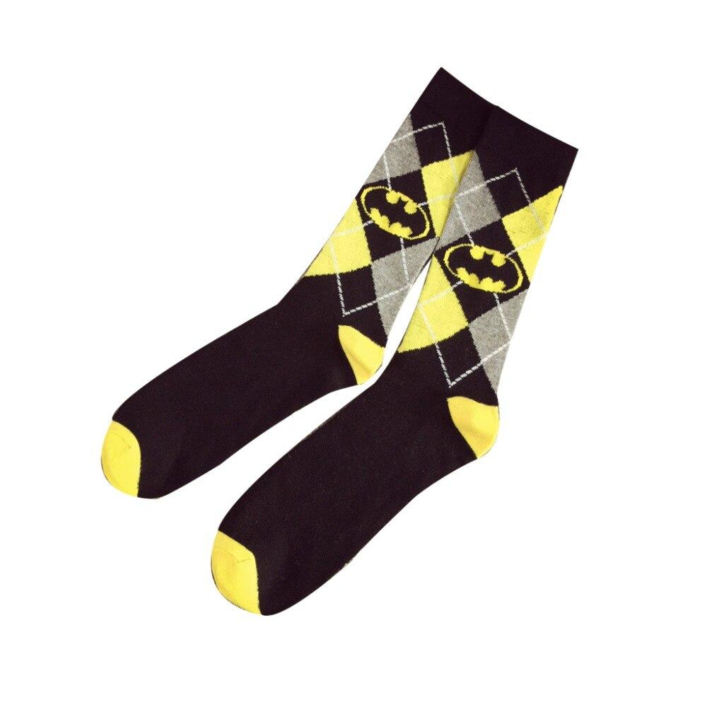 Harajuku-Super-Hero-Batman-Cotton-Socks-marvel-comics--Cosplay-elastic-cotton-Long-Cosplay-Punisher-Skate(7)