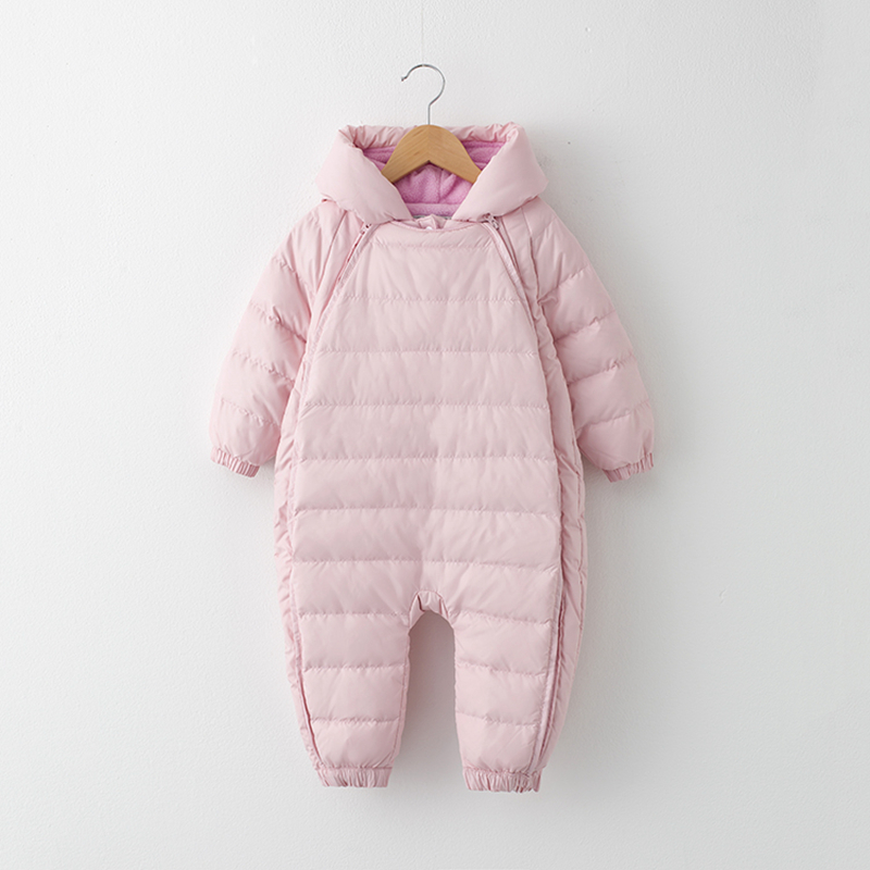 6d3e58183 Baby Snowsuit New Infant Boy Girl Winter Outerwear Outfits Hooded ...