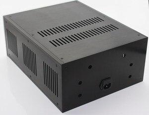 Image 4 - حالة 285*150*370 مللي متر WA109 الألومنيوم مكبر للصوت الشاسيه/فئة A مكبر كهربائي/النقي بعد مكبر للصوت حالة/AMP ضميمة/حالة/DIY مربع