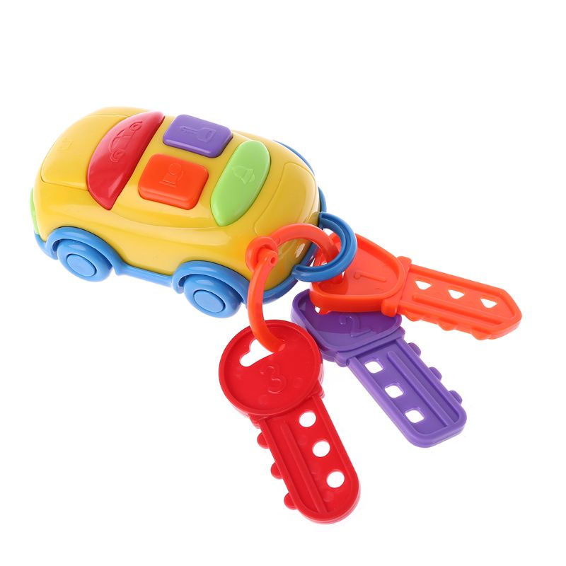 Car Key Music Cars Early Educational Toys Learning Gadget Musical Intelligent Games Kids Children Toy Preschool Toddler Baby
