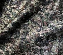 Mixed color camouflage woven wool fabric jacket coat Party printing super hollandais sequin design college A280