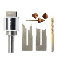 8 16mm Pagoda Knife Handle Drill Bits Woodworking Round Bead Knife Pagoda Blades Bead Knife Wooden Ball Cutter Beads Processing