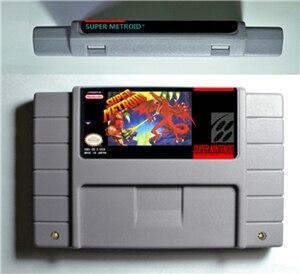 RPG Game Cartridge - SuperMetroid Super Metroided or HyperMetroid or SuperMetroid Justin Bailey or SuperMetroid PHAZON Hack hack
