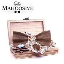 3d Wooden Bow Ties for Men men's