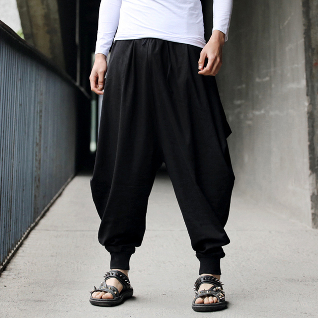 Image result for drape pants for men