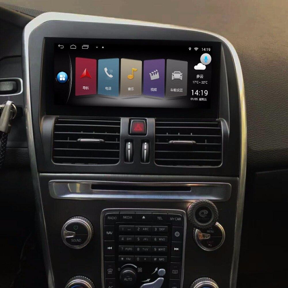 8.8 polegada Atualizado CD Player Original Do Carro para VOLVO XC60 Navegação GPS MP5 WiFi Smartphone Espelho-link Bluetooth (SEM DVD)