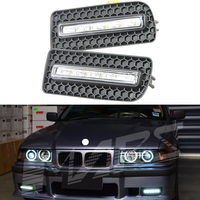 Special fit 3 Series E36 10W ABS Auto Car Daytime Running Lamp, LED DRL daytime running lights For BMW E36 M3 Bumper 92 97