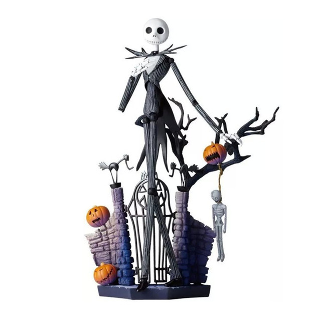 nightmare before christmas figures toys jack skellington sally pvc action figuras dolls halloween christmas gift 15cm