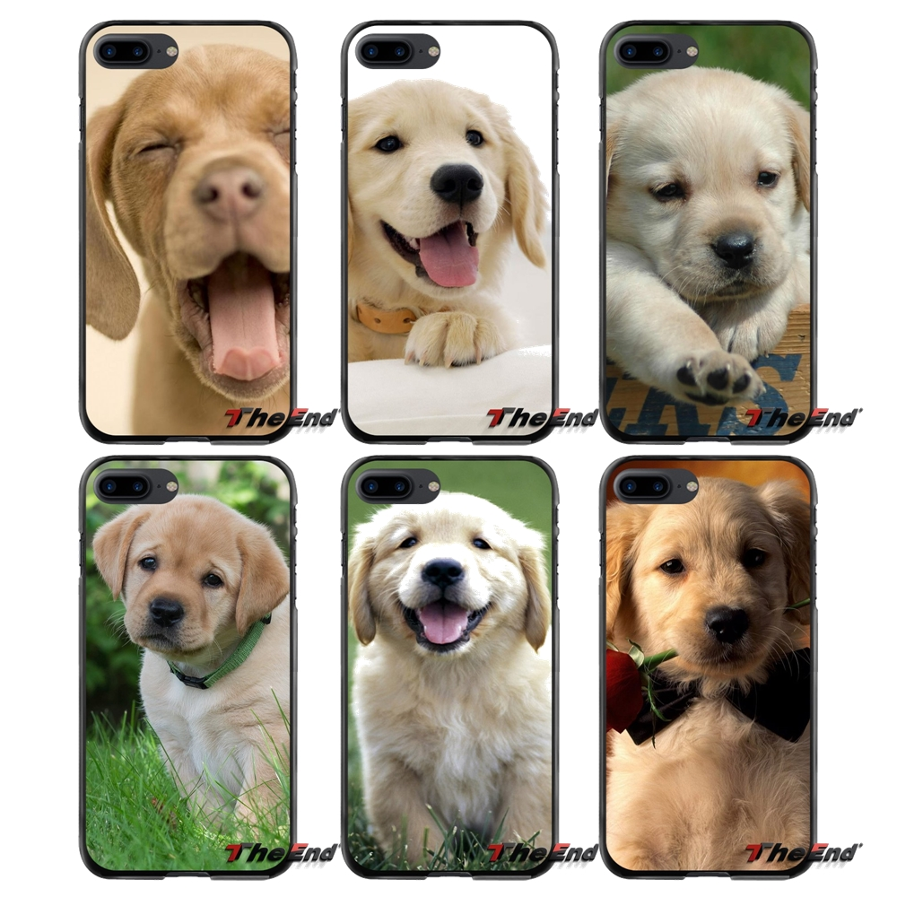 For Samsung Galaxy A3 A5 A7 A8 J1 J2 J3 J5 J7 Prime 2015 2016 2017 cute dog golden Labrador retriever Accessories Phone Bag Case