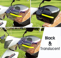 Motorcycle windshield For pulsar bajaj yamaha xt 600 honda cbr 1000rr 2008 yamaha yzf r1 bajaj qute for suzuki gsxr 600 dr650