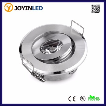 10pcs 3W Mini LED Cabinet Downlights Silver/Chrome Color Mini Led Recessed Cabinet Spot light Diameter 52mm Include Led Driver