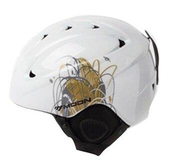 Moon double-plaque spécial pour les hommes et les femmes des casques de Ski équipement de sécurité ski sports plein air casque de Ski - 4