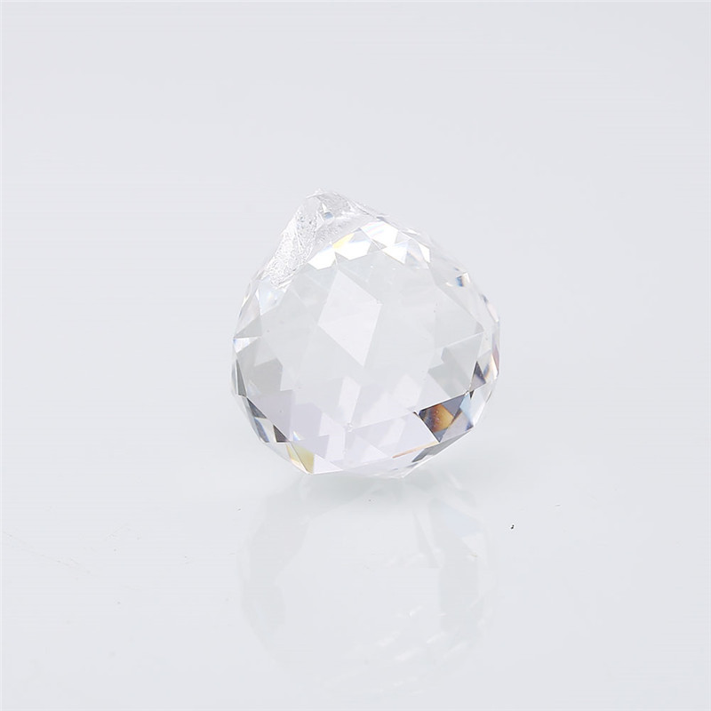 20mm/40mm Faceted Glass Ball Prism Chandelier Crystal Parts Hanging Pendant Lighting Ball Suncatcher Wedding Home Decor