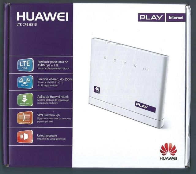 Unlocked Huawei B315s-22 150Mbps CAT4 4G LTE FDD CPE WLAN Wireless Router 3G WiFi Mobile Broadband PK b310 b593 B593s-22
