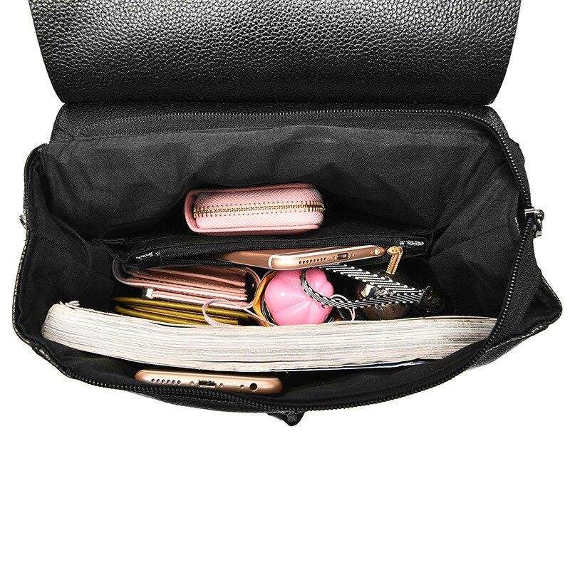 balaÚstres mochila mulheres de couro Color : Black / Red / Blue