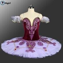 Prncess Florina pam cake tutu dress adult ballerina costumes girls dance professional womenBT9085