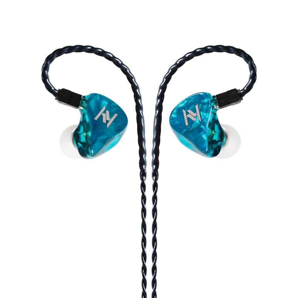 New Yinyoo ASH 1BA+1DD Hybrid In Ear Earphone HIFI DJ Monitor Earphone Earbuds For AS10 ZS10 PRO ZSN PRO ZST CCA C10 C16 CA4 TRN