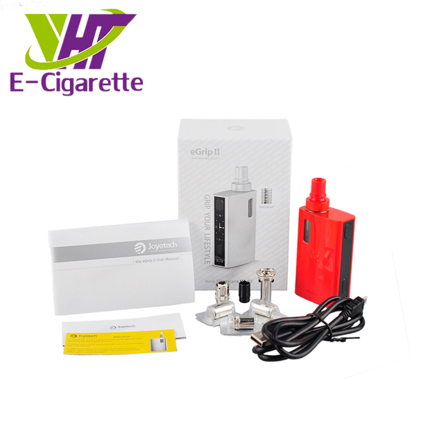 Original Joyetech eGrip II 80w Kit 2100mAh 3.5ml All-In-One Style eGrip 2 Atomizer With Notch Coil OLED Screen