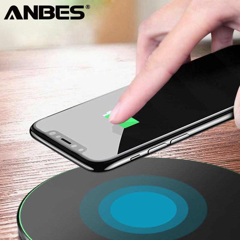Wireless-Charger Fast-Charging Huawei iPhone Xiaomi Qi Samsung 10W for P3