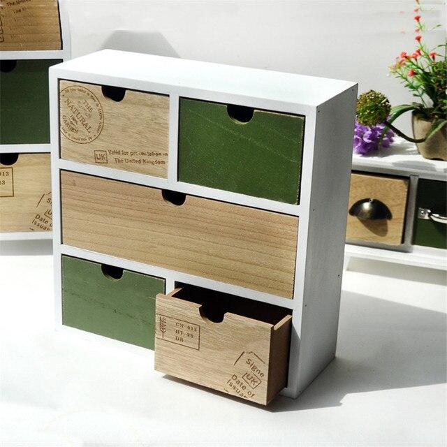 zakka wood makeup organizer storage box cosmetic organizer. Black Bedroom Furniture Sets. Home Design Ideas