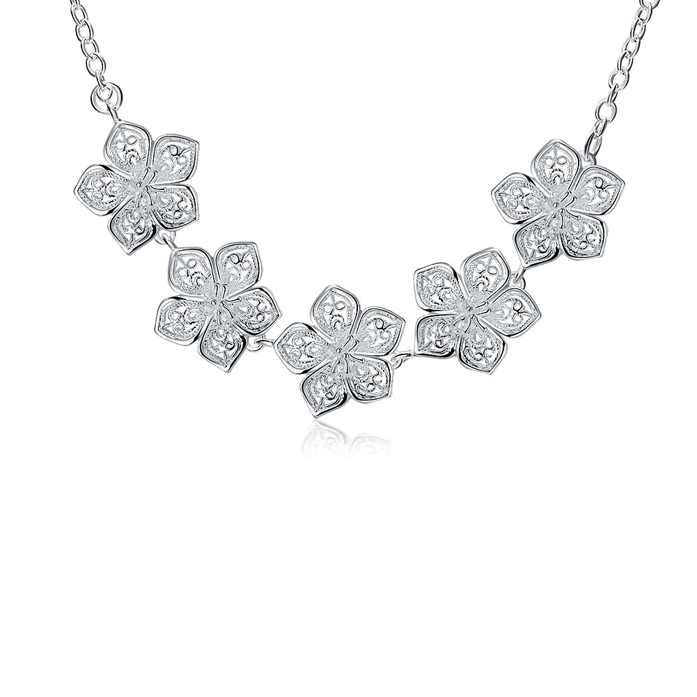 n336 wholesale silver fashion jewelry necklace pendants