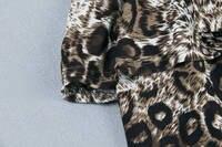 леопард распечатать верхнюю часть Probe Seal вечернее платье, бесплатная доставка новый fishion установлены одного-сократить леопард печать мини платье груди семьдесят
