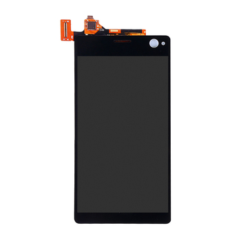 JIEYER Black White For Sony Xperia C4 E5303 E5306 E5333 E5343 E5353 Assembly Replacement LCD Display Touch Screen Digitizer 4 6 original display for sony xperia z3 compact d5803 d5833 lcd touch screen digitizer with frame for sony z3 mini lcd display