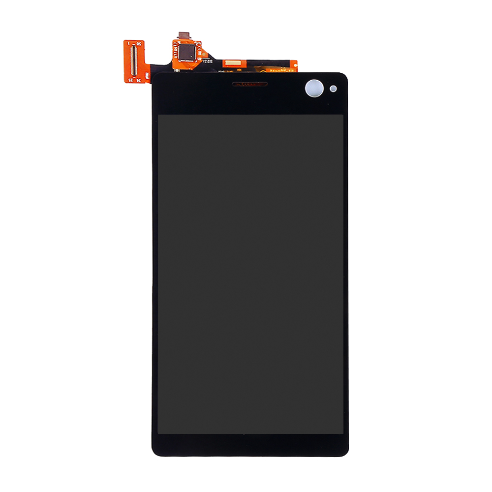JIEYER Black White For <font><b>Sony</b></font> <font><b>Xperia</b></font> C4 E5303 E5306 <font><b>E5333</b></font> E5343 E5353 Assembly Replacement LCD Display Touch Screen Digitizer image