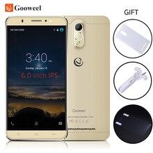 Gooweel M3 3G Cell Phone 6.0 inch IPS Screen MTK6580 Quad core Smartphone 1GB Ram 8GB Rom 8MP camera GPS Mobile Phone Free GIFT