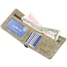 все цены на High Quality Vintage Leather Hasp Small Wallet Coin Pocket Purse Card Holder Men Wallets Money Cartera Hombre Bag Male Clutch онлайн