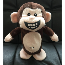2019 New Arrival Cartoon Lovely Electronic Recording Toys Plush Talking Monkey Interactive Creative