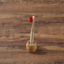 Držiak na eco zubnú kefku BAMBUS Eco Friendly Bamboo Toothbrush Holder