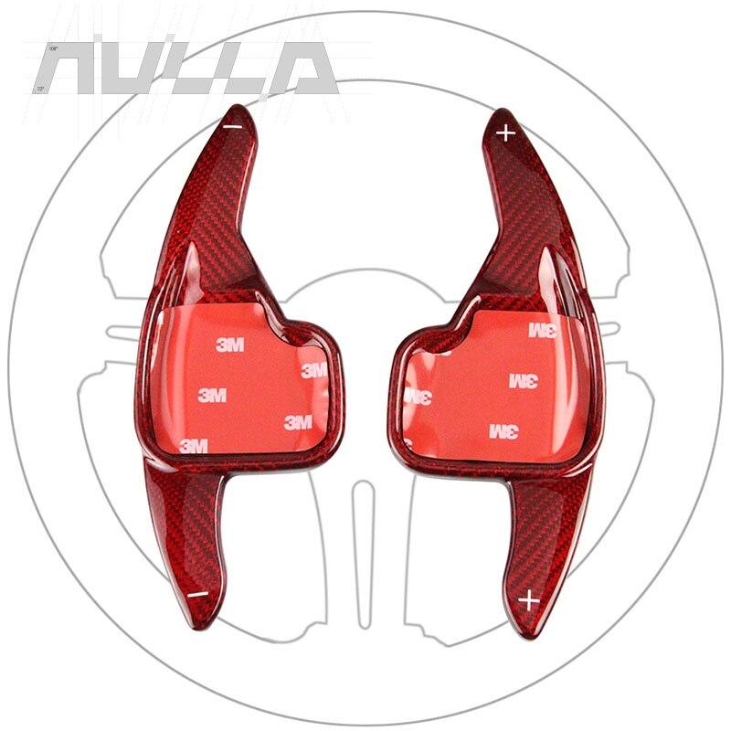 Look Carbone Volant Extension Intérieur Pagaie manette de vitesse pour BMW 2 3 4 5 6 7 série GT F30 F31 F32 F10 F20 F22 X4 Z4