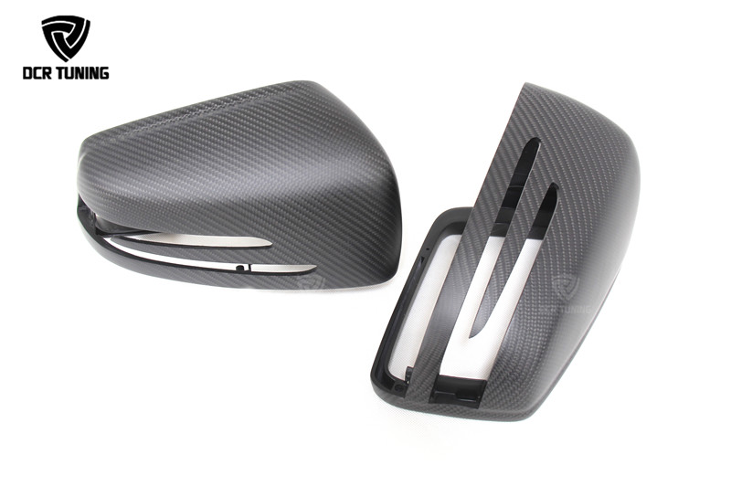 Mercedes Carbon Mirror W204 W207 W212 W176 W218 W221 Mercedes A C CLS E CLA Class Carbon Mirror Cover  (10)