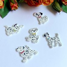 30PCs Random Mixed  Dog  Decorative Buttons
