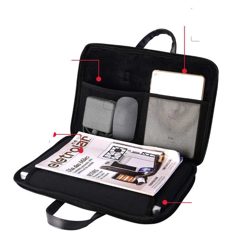 Lindo conejo Pattem PU impermeable 15,6 15 14 13 pulgadas Bolsa de ordenador portátil para mujeres 15,6 incHand bolsa de transporte de hombro bolsa para MacBook Air