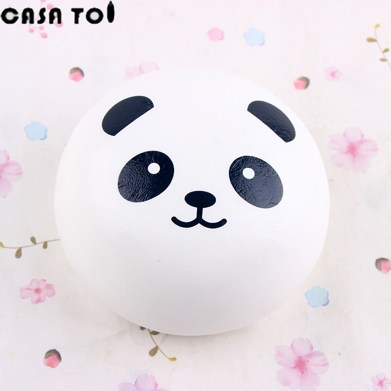 Kawaii Poo PU Squishy Panda Cute Soft Toy Squeeze Squishies Fun Squeeze Childrens Toys For Boys and girls